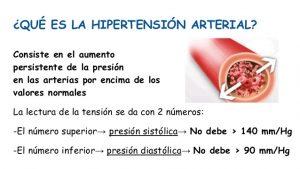 Lo que debes saber sobre: Hipertensión arterial