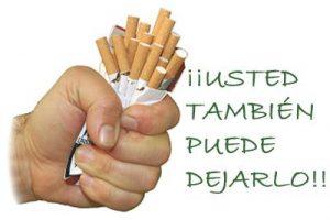 Tienes que dejar de fumar.... no esperes más.