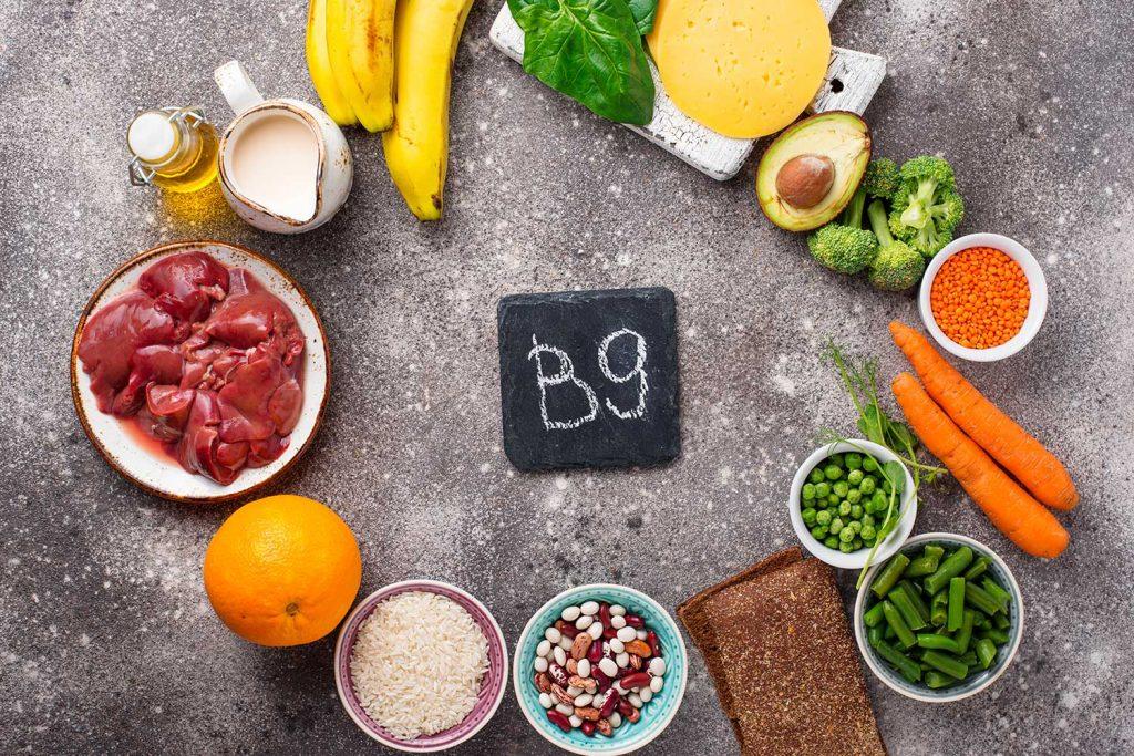 Qué beneficios aporta la vitamina B9