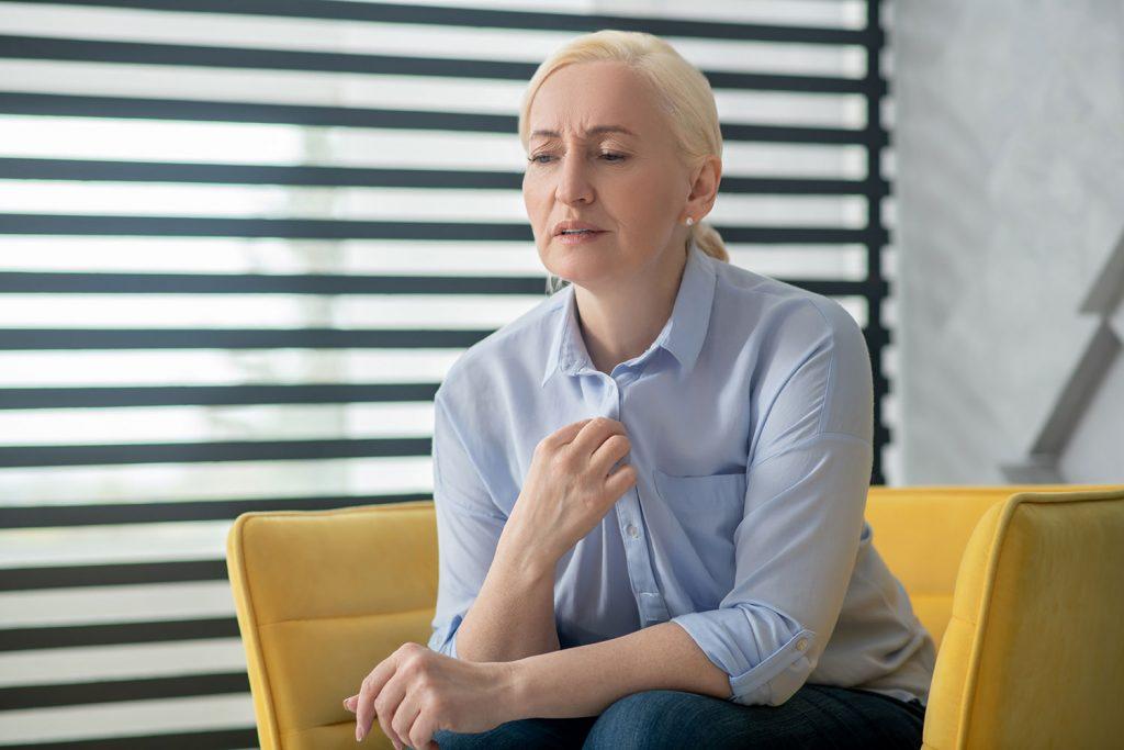 Síntomas de la menopausia: sofocos